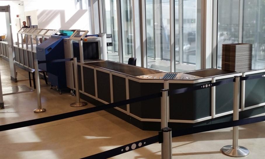 Ny Sikkerhetskontroll på en Avinor lufthavn
