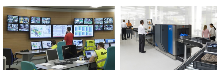 BHS, Baggage Handling System Operator room & Passenger Security Checkpoint